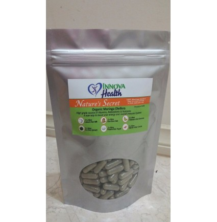 Nature's Secret Organic Moringa Capsules
